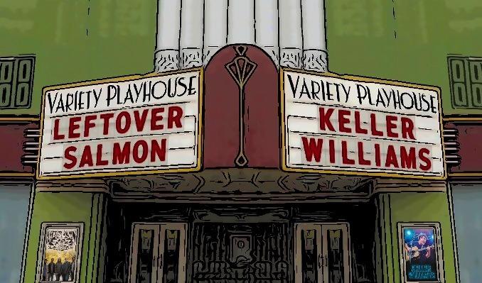 Leftover Salmon & Keller Williams tickets at Variety Playhouse in Atlanta
