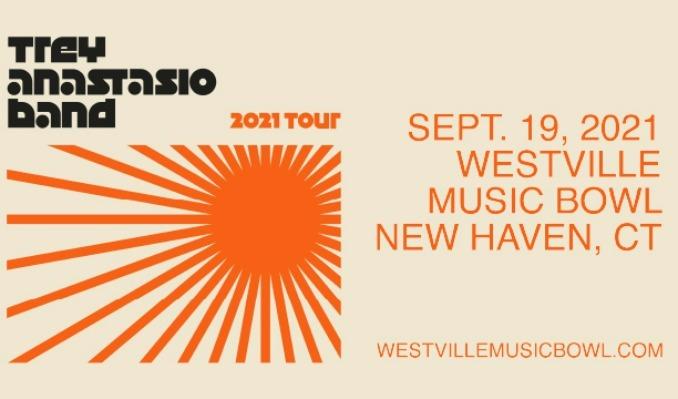 Trey Anastasio Band tickets at Westville Music Bowl in New Haven