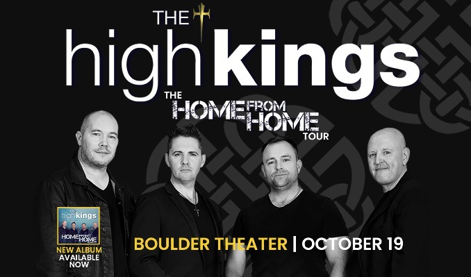The High Kings tickets at Boulder Theater in Boulder