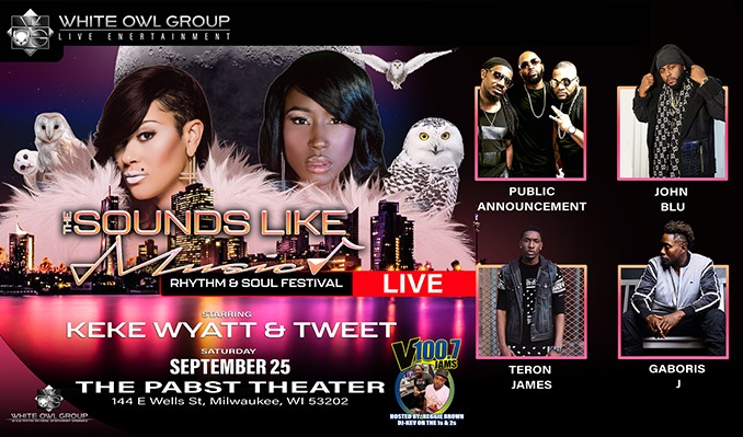 The Sounds Like Music Rhythm & Soul Festival tickets at The Pabst Theater in Milwaukee