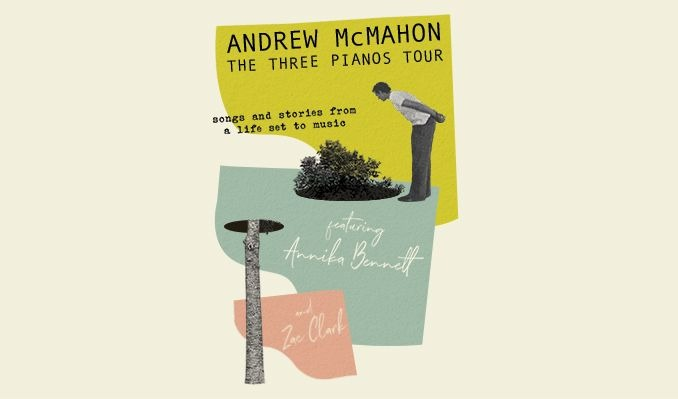 Andrew McMahon tickets at The Studio at the Factory in Dallas