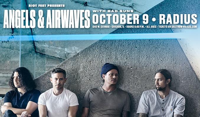 Angels & Airwaves tickets at Radius in Chicago