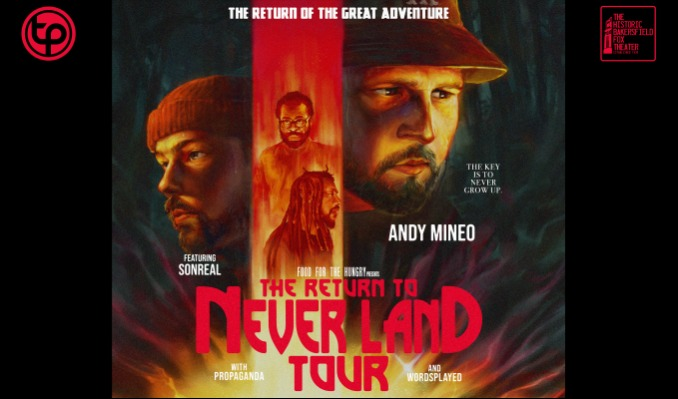 Andy Mineo tickets at Historic Bakersfield Fox Theater in Bakersfield