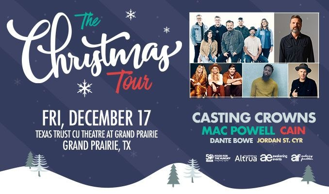 The Christmas Tour tickets at Texas Trust CU Theatre in Grand Prairie