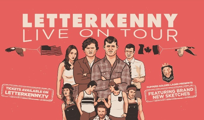 LETTERKENNY LIVE! tickets at The Warfield in San Francisco