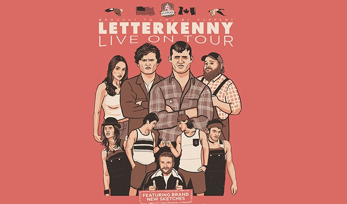 LETTERKENNY LIVE! tickets at Kleinhans Music Hall in Buffalo