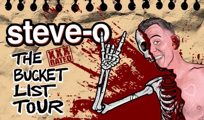 Steve-O tickets at The Pabst Theater in Milwaukee