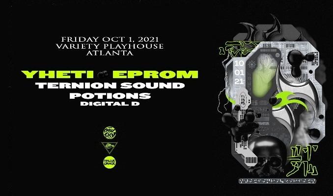 Yheti  and Eprom tickets at Variety Playhouse in Atlanta