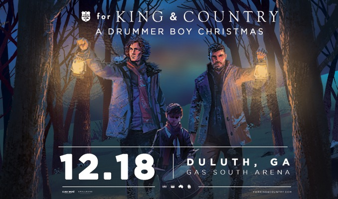 for KING & COUNTRY tickets at Gas South Arena in Duluth