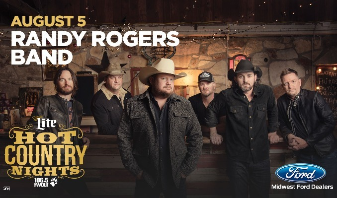 Hot Country Nights: Randy Rogers Band tickets at KC Live! in Kansas City