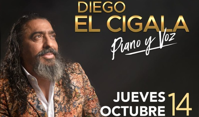 Diego El Cigala tickets at The Theatre at Ace Hotel in Los Angeles