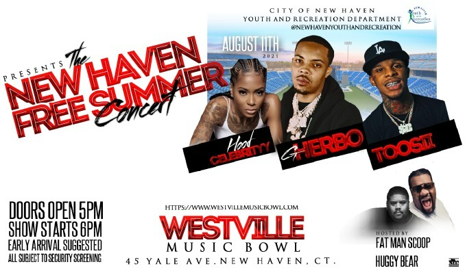 More Info for The New Haven Free Summer Concert