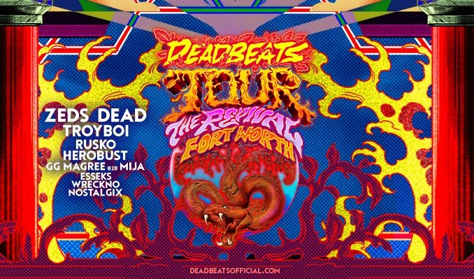Deadbeats tickets at Panther Island Pavilion in Fort Worth