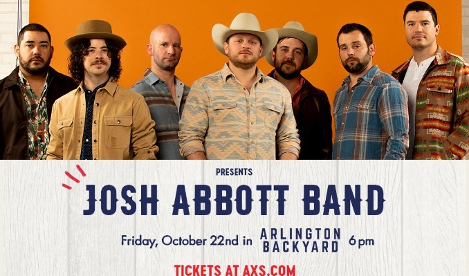 Miller Lite Hot Country Nights: Josh Abbott Band tickets at Arlington Backyard in Arlington