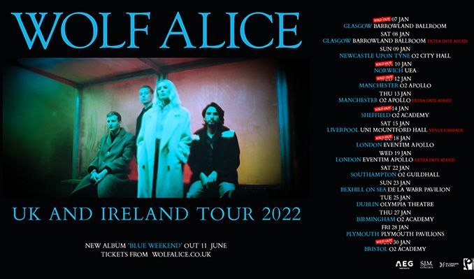 Wolf Alice - EXTRA DATE ADDED tickets at Eventim Apollo in London