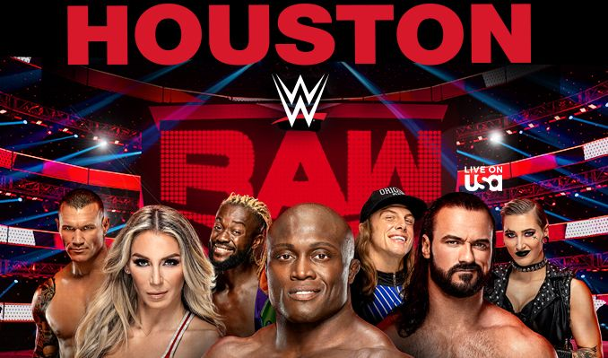 WWE Raw tickets at Toyota Center in Houston