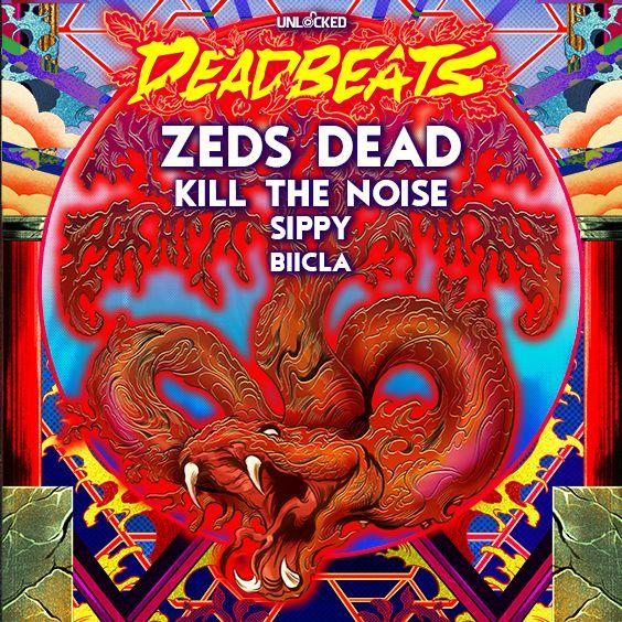 """<a href=""""https://www.axs.com/artists/112708/zeds-dead-tickets"""">DEADBEATS TOUR</a>"""