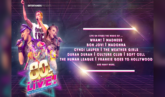 80s Live - RESCHEDULED  tickets at indigo at The O2 in London