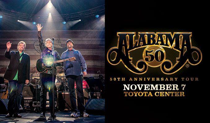 Alabama tickets at Toyota Center in Houston
