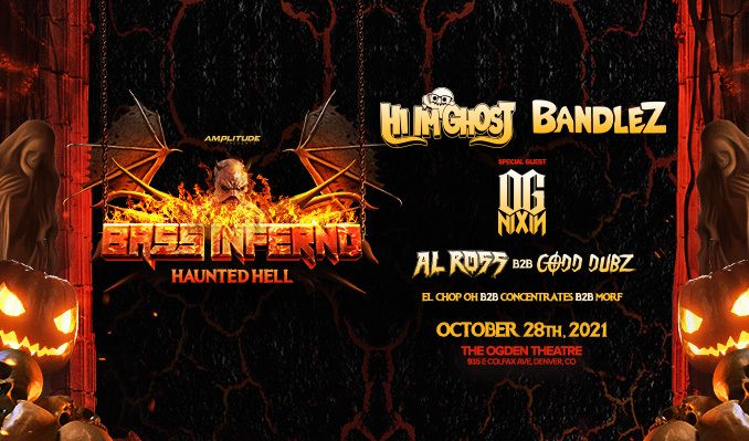 Bass Inferno: HAUNTED HELL ft. Hi I'm Ghost, Bandlez, OG Nixin + more tickets at Ogden Theatre in Denver