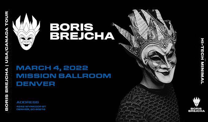 Boris Brejcha tickets at Mission Ballroom in Denver