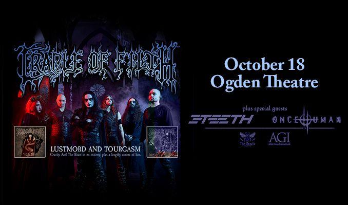 Cradle of Filth tickets at Ogden Theatre in Denver