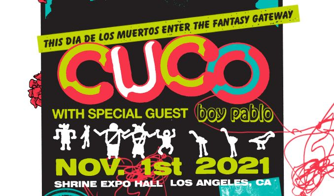 Cuco tickets at Shrine Expo Hall in Los Angeles