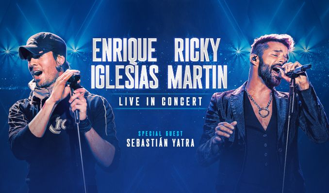 Enrique Iglesias & Ricky Martin 2021 tickets at STAPLES Center in Los Angeles