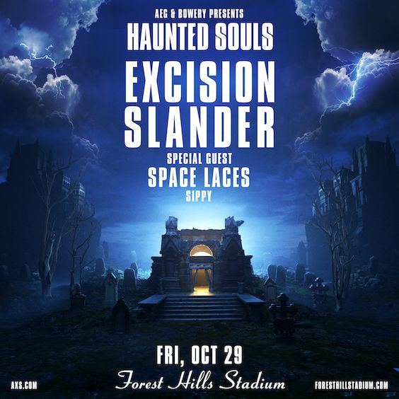 """<a href=""""https://www.axs.com/artists/108506/excision-tickets"""">AEG & The Bowery Presents</a>"""