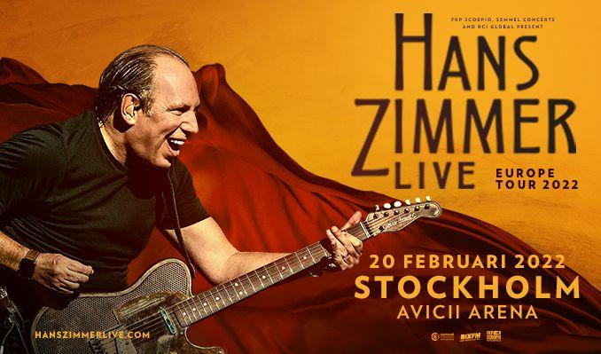 Hans Zimmer Live - NYTT DATUM tickets at Avicii Arena in Stockholm