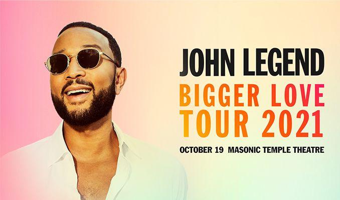 John Legend tickets at Masonic Temple Theatre in Detroit
