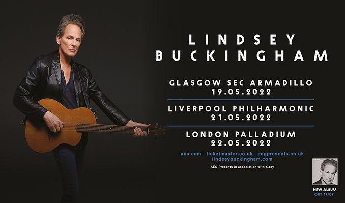 Lindsey Buckingham tickets at London Palladium in London