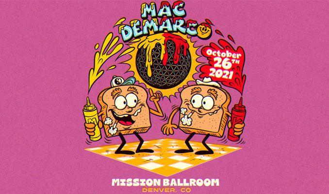 Mac DeMarco tickets at Mission Ballroom in Denver
