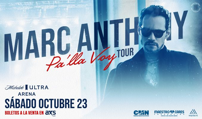 Marc Anthony Pa'lla Voy Tour tickets at Michelob ULTRA Arena at Mandalay Bay Resort & Casino in Las Vegas