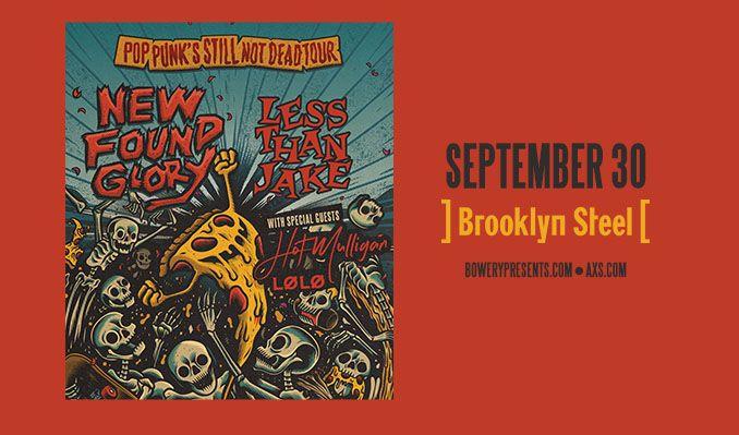 New Found Glory tickets at Brooklyn Steel in Brooklyn