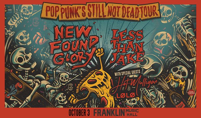 New Found Glory  tickets at Franklin Music Hall in Philadelphia