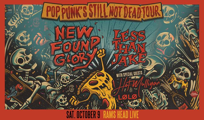 New Found Glory tickets at Rams Head Live! in Baltimore
