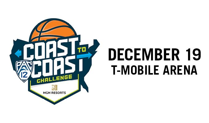 Pac-12 Coast to Coast Challenge tickets at T-Mobile Arena in Las Vegas