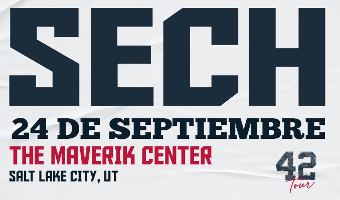 Sech tickets at Maverik Center in Salt Lake City