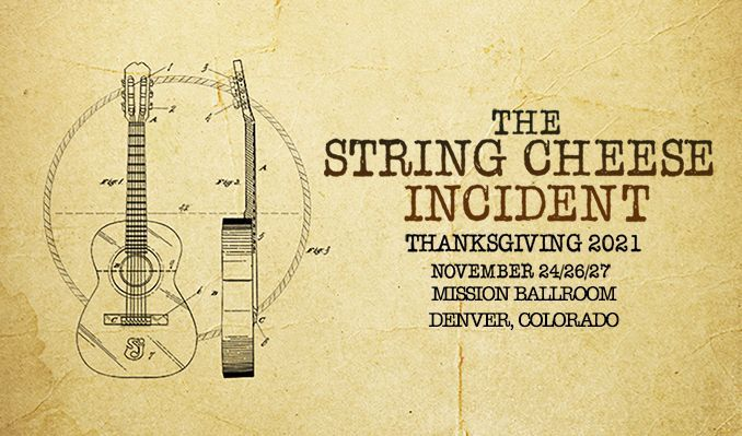 The String Cheese Incident tickets at Mission Ballroom in Denver