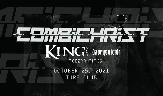 Combichrist tickets at Turf Club in Saint Paul