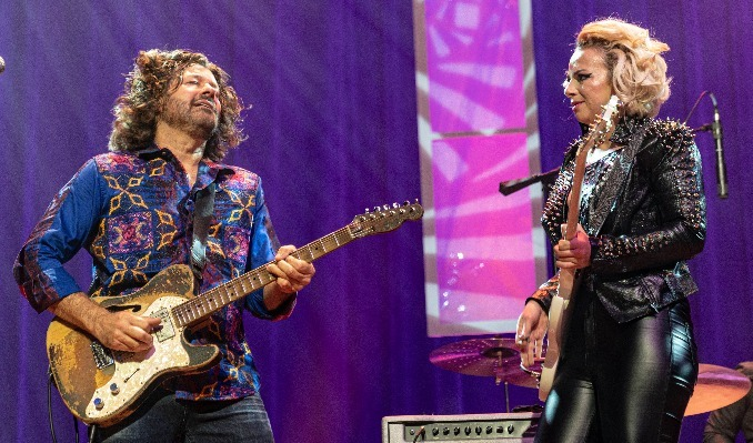 Tab Benoit's Swampland Jam & The Samantha Fish Band tickets at The Hall in Little Rock