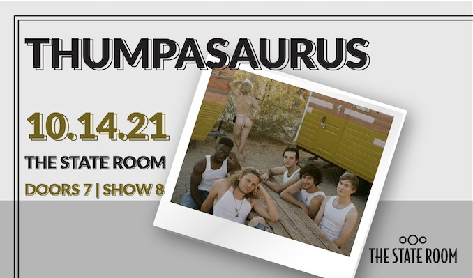 Thumpasaurus tickets at The State Room in Salt Lake City
