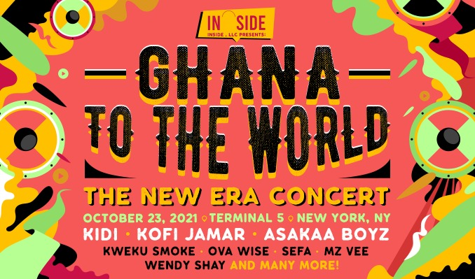 Ghana To The World : The New Era tickets at Terminal 5 in New York