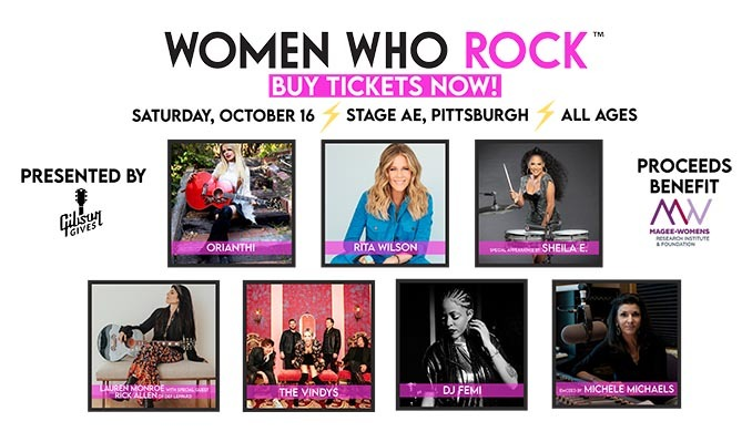 Women Who Rock tickets at Stage AE in Pittsburgh