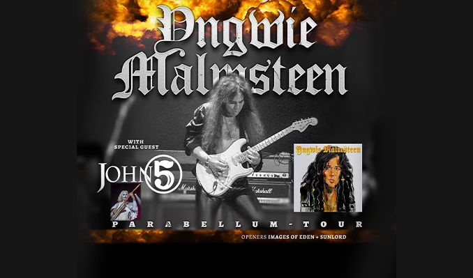 Yngwie Malmsteen with special guest John 5 tickets at Keswick Theatre in Glenside