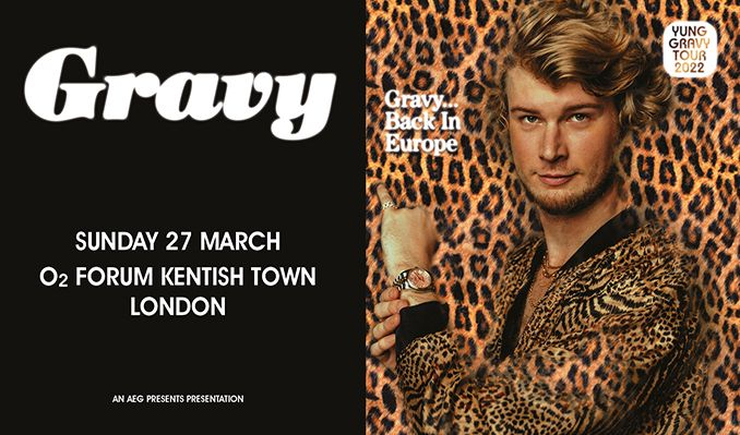 Yung Gravy tickets at O2 Forum Kentish Town in London