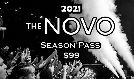 2021 Novo Season Pass tickets at The Novo in Los Angeles