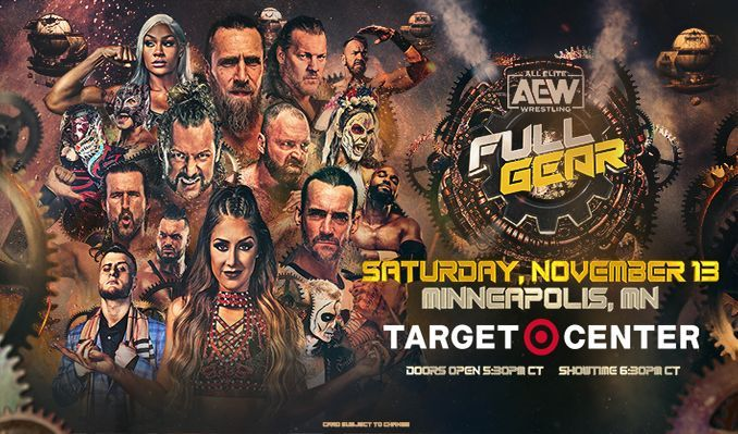 AEW FULL GEAR tickets at Target Center in Minneapolis