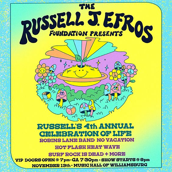 A Benefit Show Presented by The Russell J. Efros Foundation
